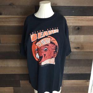 Oregon State Beavers osu Basketball Shirt vintage